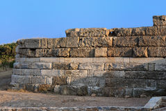 Part of ancient wall. Stock Photography