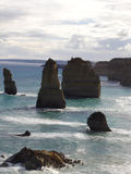 Part of apostles. Part of the 12 apostle, great ocean road australia Stock Photography