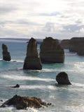 Part of apostles. Part of the 12 apostle, great ocean road australia stock photography