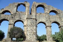 Part of aquaduct Royalty Free Stock Photos