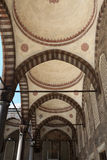 Part arcade of Blue mosque Royalty Free Stock Photo
