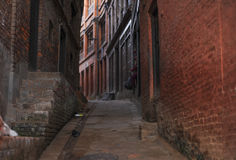 A part of area in Bakhtapur Nepal Royalty Free Stock Photos