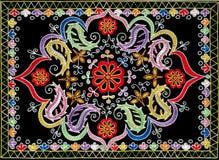 The part of azerbaijan handmade carpe Royalty Free Stock Image