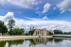 A part of the Bang Pa-in Royal Palace Royalty Free Stock Image
