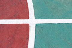 Part of a basketball court Stock Images
