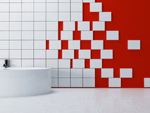 A part of the bathroom Stock Images