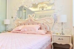 Part of bedroom Stock Image