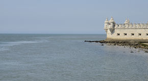Part of Belem Tower Stock Images