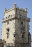 Part of Belem Tower Stock Image