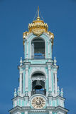 Part of Bell tower. Stock Photo