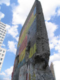 Part of the berlin wall. Old part of the berlin wall - Potsdamer Platz Stock Photography