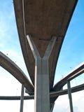 Part of Bhumibol Bridge Royalty Free Stock Photo