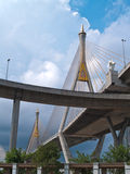 Part of Bhumibol Bridge Stock Images