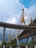 Part of Bhumibol Bridge Stock Images