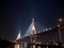 Part of Bhumibol Bridge Stock Photos