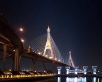 Part of Bhumibol Bridge Royalty Free Stock Image