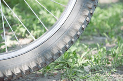 Part of the bicycle wheel Royalty Free Stock Image