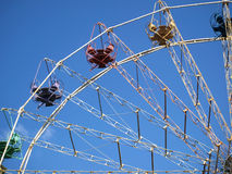A part of the big wheel Stock Image