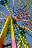 Part of the big wheel Stock Photos