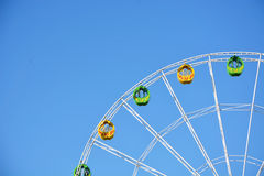 Part of the big wheel Stock Images