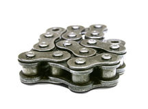 Part of bike chain Royalty Free Stock Images