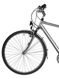 Part of bike isolated ( clipping path) Royalty Free Stock Images