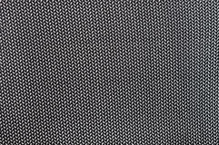Part of black fabric Royalty Free Stock Image