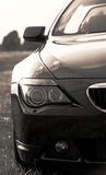 Part of bmw sports car, cabriolet Royalty Free Stock Images