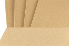 Part of book's cover in brown color Royalty Free Stock Image