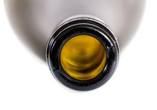 Part of bottle. Stock Photos