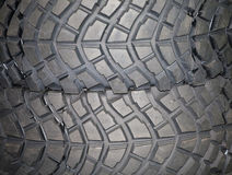 Part of brand new car tyre Royalty Free Stock Photos