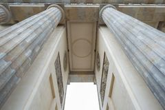 Part of Brandenburg Gate, Berlin Germany stock photography