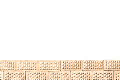 Part of a brick wall Stock Photo
