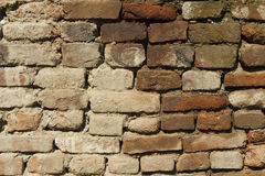 Part of the brick wall Stock Photography