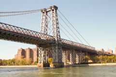 Part of a bridge in New York Stock Images