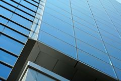 Part of building. Part of modern business building Royalty Free Stock Photos
