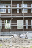 Part of building construction. Image of the part of building construction Royalty Free Stock Photography