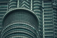 Part of building in Kuala Lumpur royalty free stock images