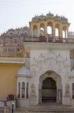 Part of the building of the Palace of winds Hava Makhal in Jaipur India Stock Photo