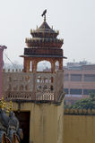 Part the building of the Palace  the winds Hava Makhal in Jaipur India. Part the building of the Palace of the winds Hava Makhal in Jaipur India Stock Photography