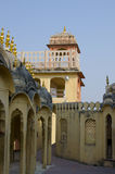 Part the building of the Palace  the winds Hava Makhal in Jaipur India Stock Images