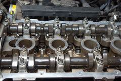 Part of a car engine. Royalty Free Stock Photos