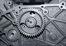 Part of a car engine.close up Royalty Free Stock Photography