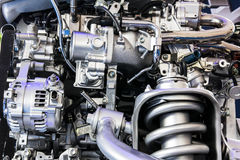 Part of car engine Royalty Free Stock Photos