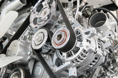 Part of car engine Stock Photo