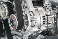 Part of car engine Stock Image