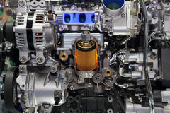 Part of the car engine Stock Photo
