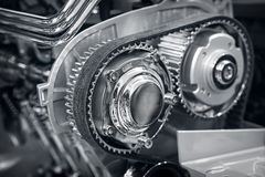 Part of car's engine Stock Photography