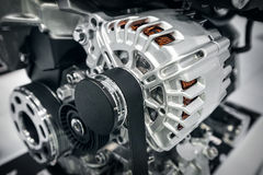 Part of car's engine Royalty Free Stock Image