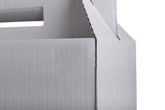 Part of cardboard box Royalty Free Stock Photography